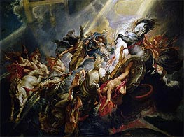 The Fall of Phaeton | Rubens | Painting Reproduction