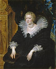 Ana of Austria, Wife of Louis XIII | Rubens | Painting Reproduction