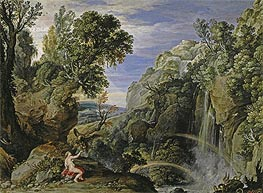 Landscape with Psyche and Jupiter | Rubens | Painting Reproduction