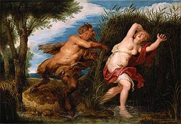 Pan and Syrinx, c.1620/25 by Rubens | Painting Reproduction