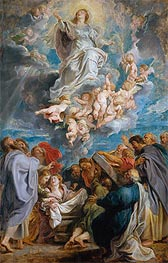 The Assumption of the Virgin | Rubens | Painting Reproduction