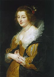 Portrait of a Woman | Rubens | Painting Reproduction
