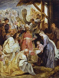 The Adoration of the Magi | Rubens | Painting Reproduction