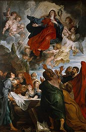 The Assumption of the Virgin Mary | Rubens | Painting Reproduction