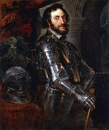 Portrait of Thomas Howard, Earl of Arundel | Rubens | Gemälde Reproduktion