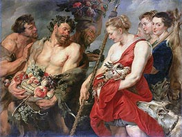 Diana Returning from the Hunt | Rubens | Painting Reproduction