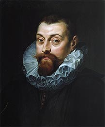 Portrait of a Man, c.1597/99 by Rubens | Painting Reproduction