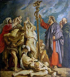 Moses and the Brazen Serpent | Rubens | Painting Reproduction