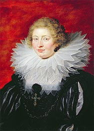 Portrait of Madame de Vicq | Rubens | Painting Reproduction