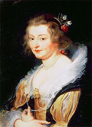 Portrait of Catherine Manners, Duchess of Buckingham | Rubens | Gemälde Reproduktion