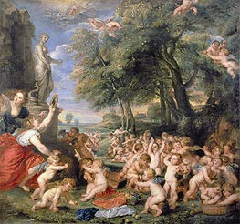 Worship of Venus | Rubens | Painting Reproduction