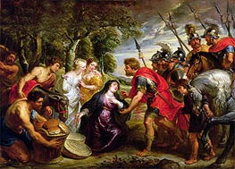 The Meeting of David and Abigail | Rubens | Painting Reproduction