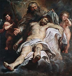 The Holy Trinity | Rubens | Painting Reproduction