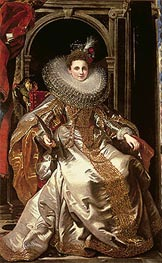 Portrait of Marchesa Maria Serra Pallavicino | Rubens | Painting Reproduction