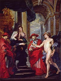The Treaty of Angouleme (The Medici Cycle) | Rubens | Painting Reproduction
