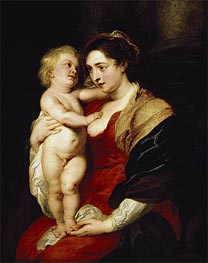 The Madonna and Child | Rubens | Gemälde Reproduktion