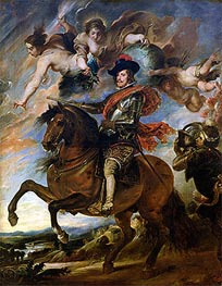 Equestrian Portrait of King Philip IV of Spain | Rubens | Painting Reproduction