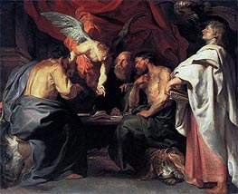The Four Evangelists | Rubens | Painting Reproduction