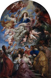 Assumption of the Virgin | Rubens | Painting Reproduction