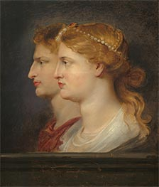 Agrippina and Germanicus, c.1614 von Rubens | Gemälde-Reproduktion