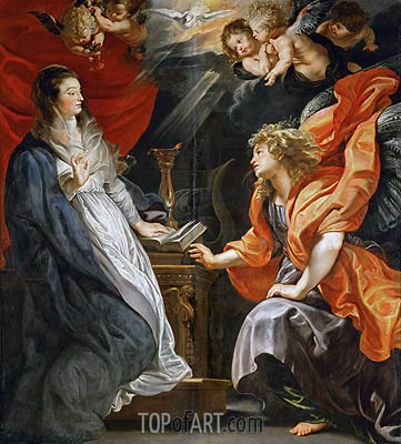 The Annunciation, 1609 | Rubens | Painting Reproduction