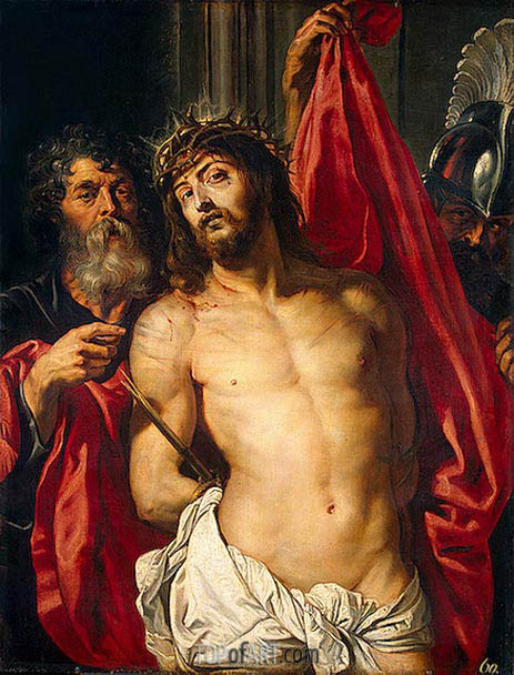 The Crown of Thorns (Ecce Homo), c.1612 | Rubens | Painting Reproduction