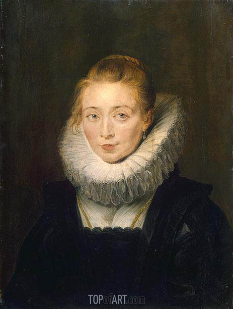 Portrait of Lady-in-Waiting to the Infanta Isabella, c.1624/26 | Rubens | Gemälde Reproduktion
