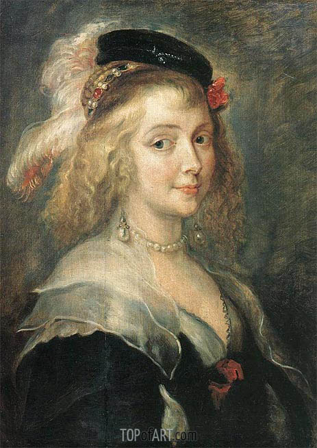 Portrait of Helena Fourment, c.1630 | Rubens | Painting Reproduction