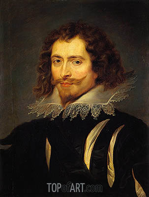 The Duke of Buckingham, c.1625 | Rubens | Gemälde Reproduktion