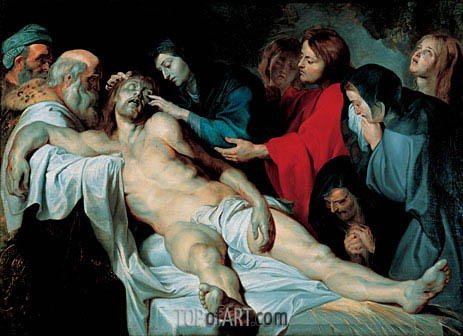 The Mourning of Christ, c.1613/14 | Rubens | Gemälde Reproduktion