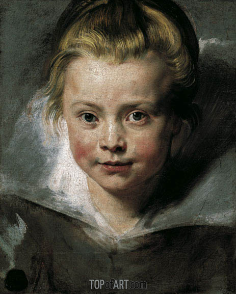 Portrait of Clara Serena Rubens, c.1616 | Rubens | Painting Reproduction