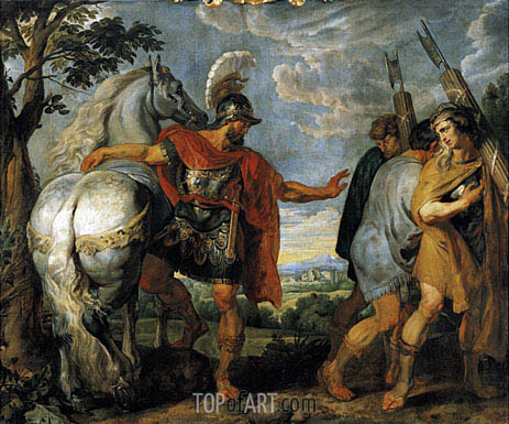 The Dismissal of the Lictors, c.1616/17 | Rubens | Painting Reproduction
