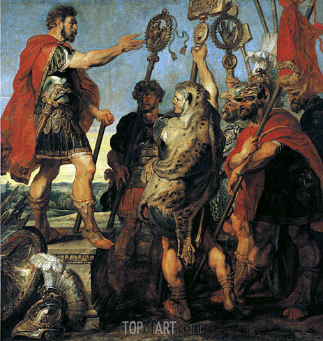 Decius Mus Relating his Dream, c.1616/17 | Rubens | Painting Reproduction
