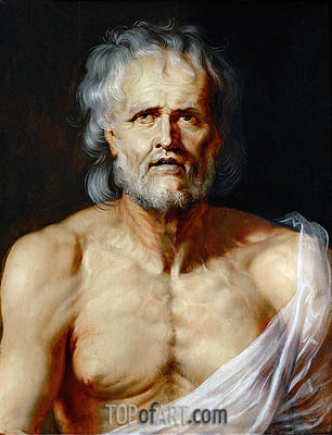 The Dying Seneca, undated | Rubens | Gemälde Reproduktion