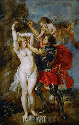 Perseus Freeing Andromeda, c.1641/42 | Rubens | Painting Reproduction