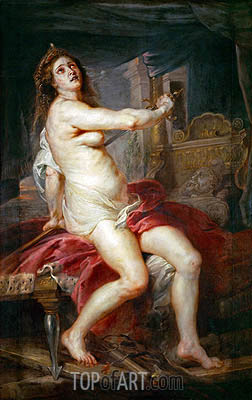 The Death of Dido, undated | Rubens | Painting Reproduction