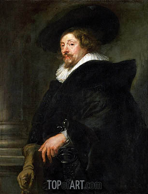 Peter Paul Rubens (Self-Portrait), c.1639/40 | Rubens | Painting Reproduction