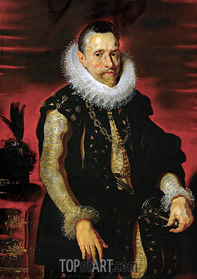 Archduke Albrecht VII, Governor of the Netherlands, c.1613/15 | Rubens | Painting Reproduction