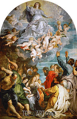 Assumption of Saint Mary, c.1611/14 | Rubens | Painting Reproduction