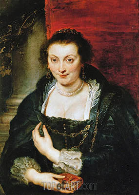 Isabella Brant, undated | Rubens | Painting Reproduction