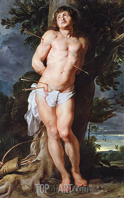 Saint Sebastian, c.1618 | Rubens | Painting Reproduction