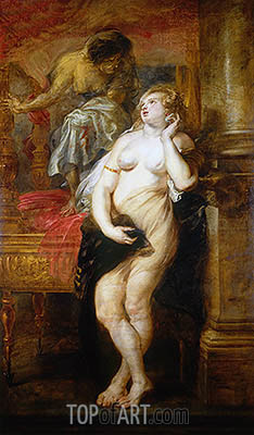 Deianeira Tempted by Fama, c.1638 | Rubens | Gemälde Reproduktion