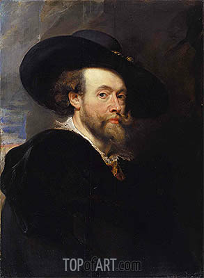Portrait of the Artist, 1623 | Rubens | Painting Reproduction