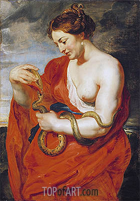 Hygeia, Goddess of Health, c.1615 | Rubens | Painting Reproduction