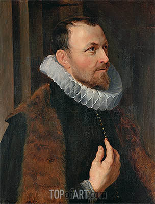 Portrait of Nicolaas Rockox, 1615 | Rubens | Painting Reproduction