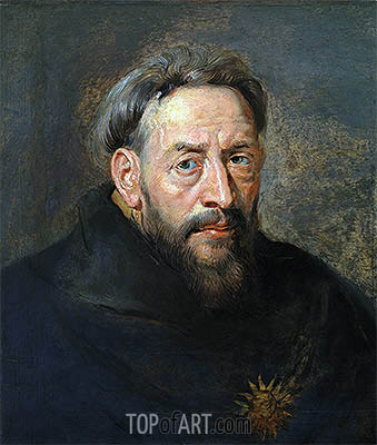 Portrait of a Monk, undated | Rubens | Painting Reproduction