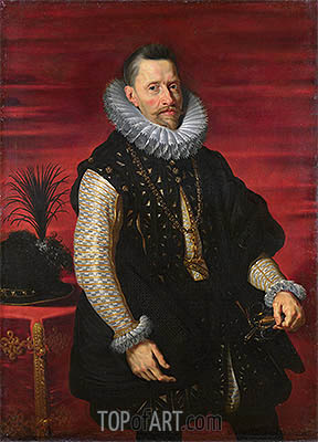 Portrait of the Archduke Albert, c.1615 | Rubens | Painting Reproduction