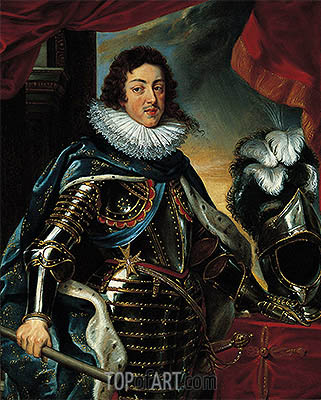 Portrait of Louis XIII, King of France, c.1622/25 | Rubens | Painting Reproduction