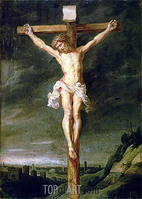 The Crucifixion, undated | Rubens | Painting Reproduction