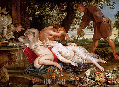 Cimon and Iphigenia, c.1617 | Rubens | Painting Reproduction